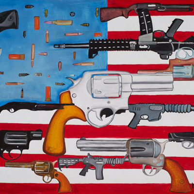 314ab-46FlagwithGuns2013OoP18x24