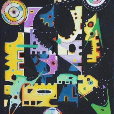 Black Cosmos I, OoC, 16x12